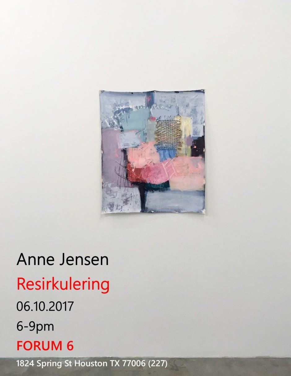 Anne Jensen Resirkulering June show