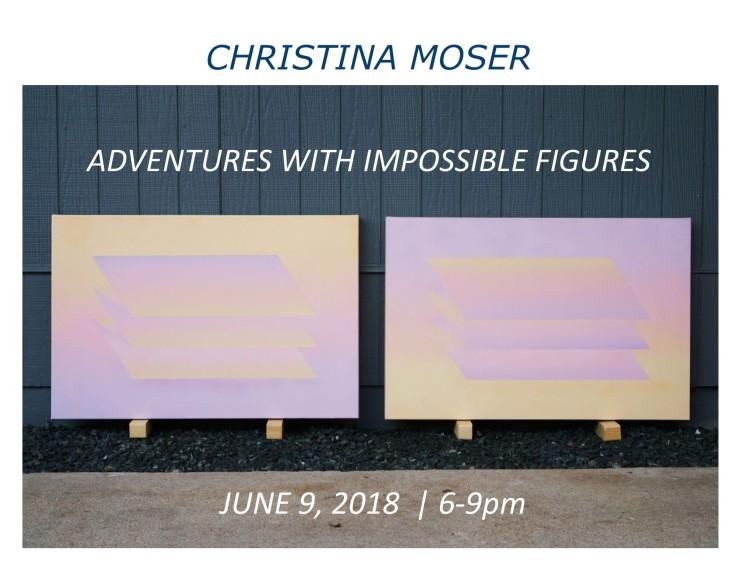 Christina Moser Solo Show website image